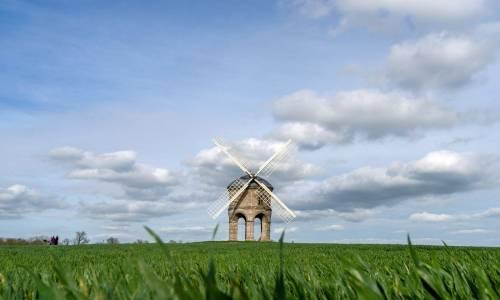Il mulino a vento di Chesterton, costruito tra il 1632-1633