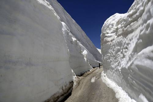 Una strada straordinaria nel nord del Libano.
