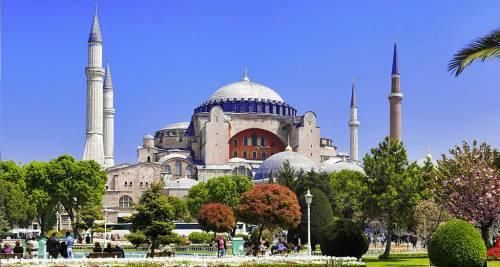 Hagia Sophia, Istanbul Turchia
