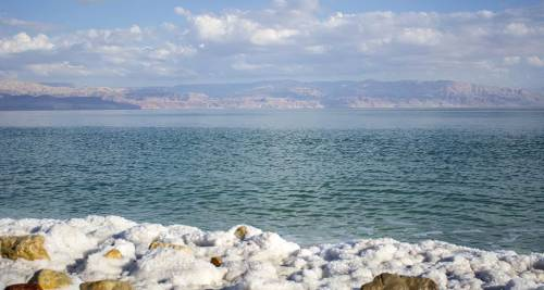 Il Mar Morto, Giordania/Palestina/Israele