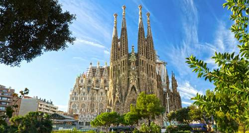 La Sagrada Família – Barcelona, Spagna