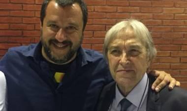 Imprenditore fallito a Monza, eseguito sfratto. Visita di Salvini e Di Maio