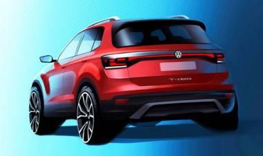 Volkswagen T-Cross, prima immagine del SUV da 4 metri
