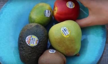 Cosa significano davvero i piccoli adesivi sulla frutta?