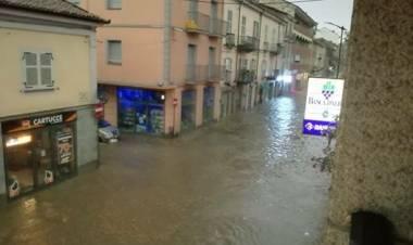 Maltempo, danni e allagamenti nel Torinese e nell'Astigiano