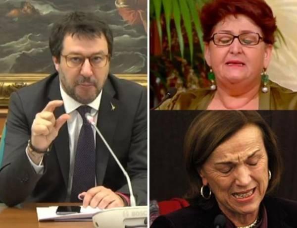 Salvini contro Bellanova: Piange per gli immigrati e non per gli italiani