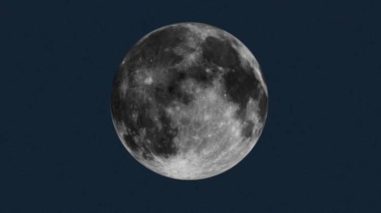 NASA: c'è ghiaccio sulla superficie lunare