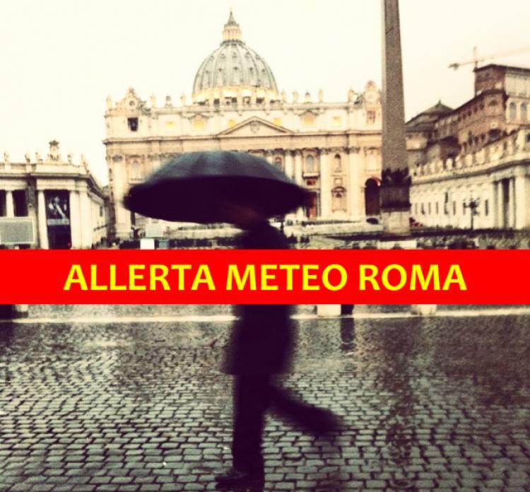 """Allerta Meteo Roma per Venerdì 2 Novembre, rischio alluvione in mattinata: il Comune valuta le """"Scuole Chiuse"""""""