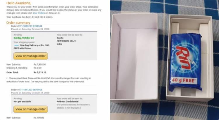 Compra uno Xiaomi su Amazon, a casa gli arriva una saponetta.
