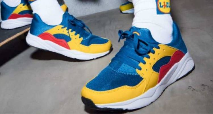 Lidl-mania: le scarpe del discount diventano un cult